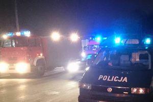 Pożar w centrum Pisza. Jedna osoba nie żyje, druga w szpitalu
