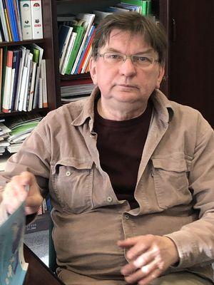 Andrzej Jurkian z Warmińsko-Mazurskiego Sejmiku Osób Niepełnosprawnych