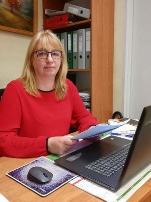 Anna Rogulska-Ruchała, trener pracy z Warmińsko-Mazurskiego Sejmiku Osób Niepełnosprawnych w Olsztynie