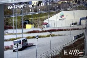 Kamera na basenie została umieszczona na filarze budynku, a jej zasięg to wejście na basen i częściowo parking za nim, lodowisko, rondo na ul. Konstytucji 3 Maja oraz fragment ulic Sienkiewicza i Biskupskiej.
