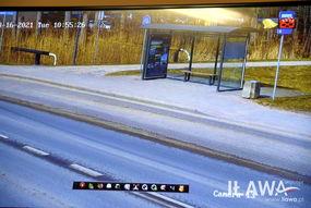 Kolejnym miejscem, gdzie pojawiły się kamery jest teren tzw. Wyspy Młyńskiej, gdzie zainstalowano kamerę stacjonarną i obrotową. Ich obraz obejmuje przystanek autobusowy na ulicy Kościuszki, część ścieżek rowerowych przy rzece Iławce do kładki oraz fragment ulicy Ostródzkiej.