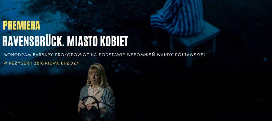 Monodram Barbary Prokopowicz w reżyserii Zbigniewa Brzozy.