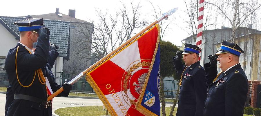 Emerytura Jacka Audy, komendanta powiatowego straży pożarnej