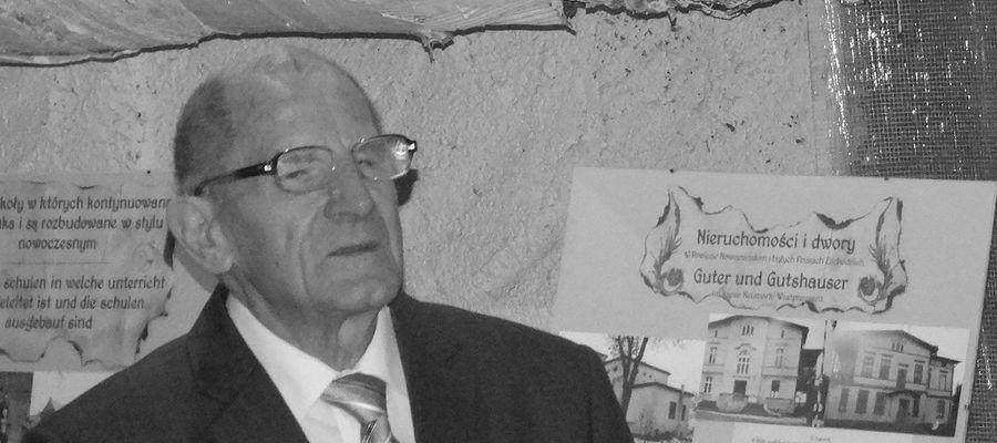 Edmund Tessmer miał 90 lat