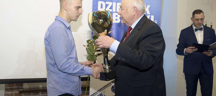 Bokser Dawid Dziuwe był laureatem ubiegłorocznej edycji plebiscytu