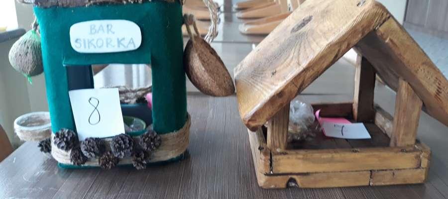 Najpiękniejszy karmnik dla ptaków w Szkole Podstawowej w Galinach