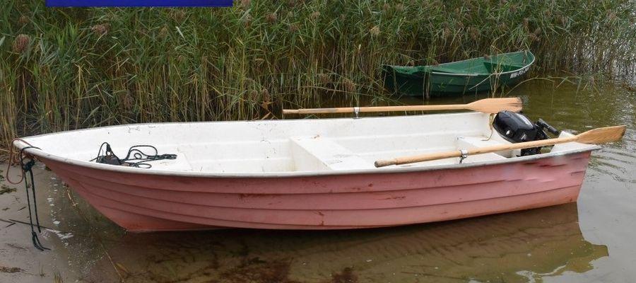 Łupem złodziei w listopadzie ub. roku padła między innymi łódź wiosłowa