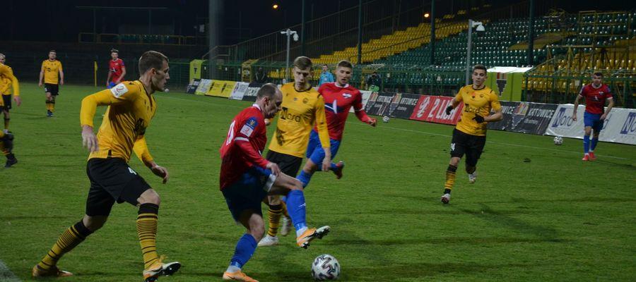 Drugoligowcy z Ostródy wyjechali do Wronek na mecz z Lechem II