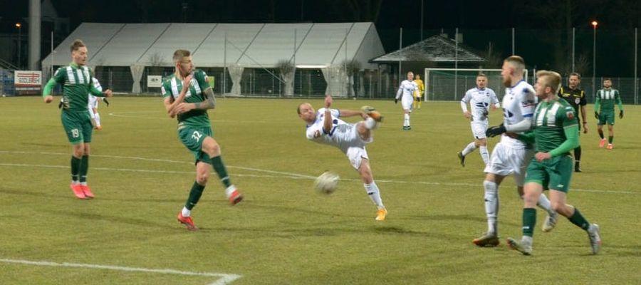 Piłkarze Sokoła przegrali trzeci ligowy mecz w tym roku