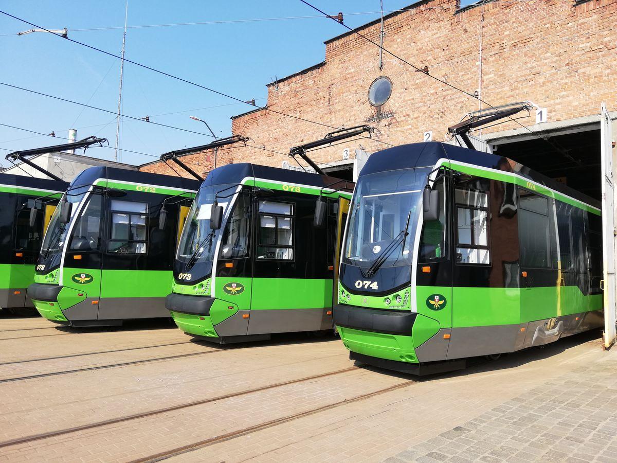 Najmłodszy tramwaj dotarł do Elbląga 14 kwietnia