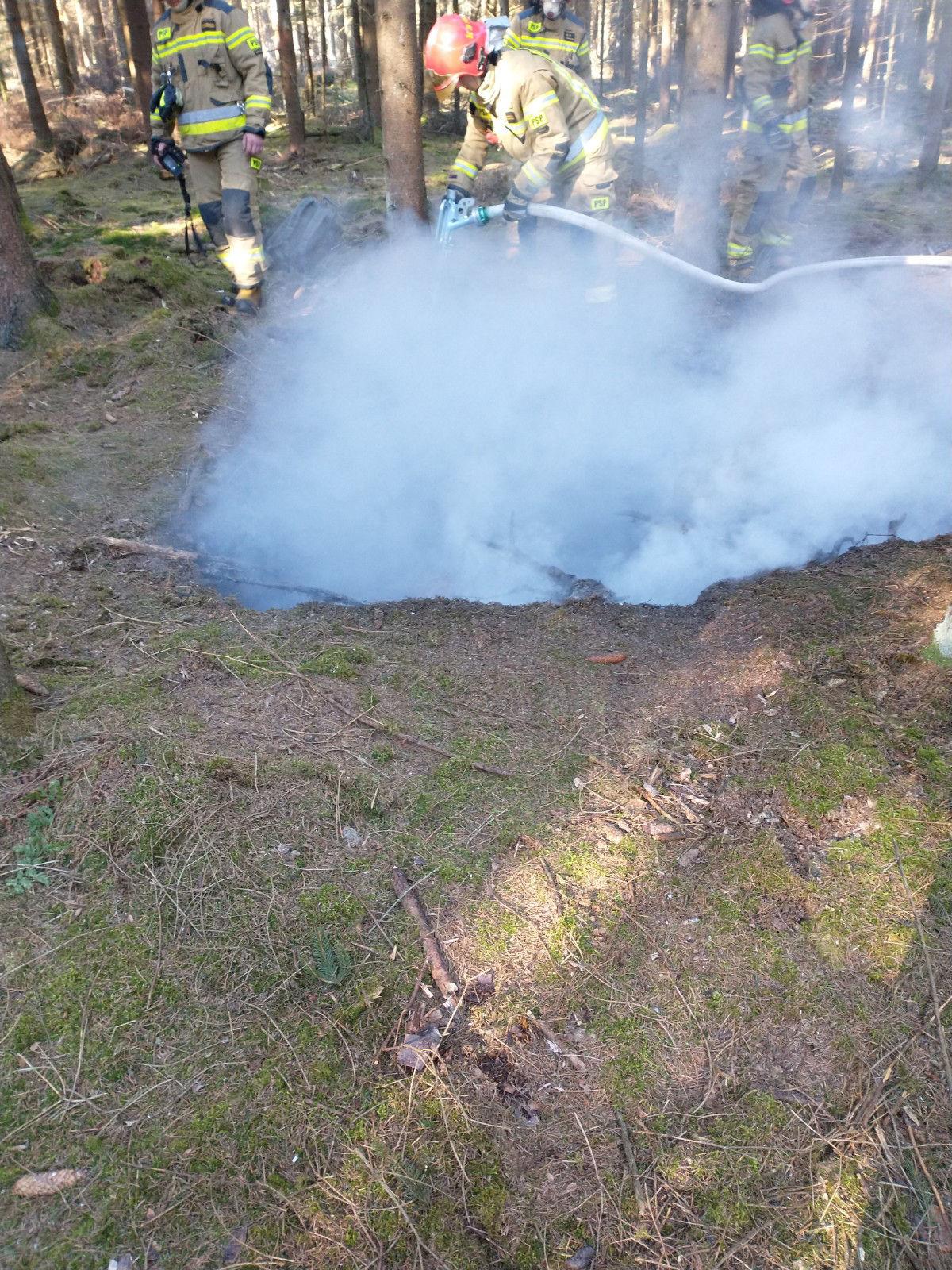 Pożar ugaszono w zarodku