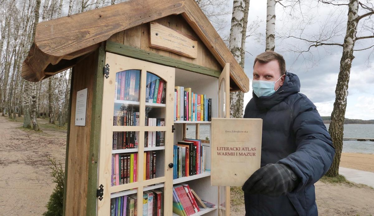 Krzysztof Dąbkowski zachęca do czytania