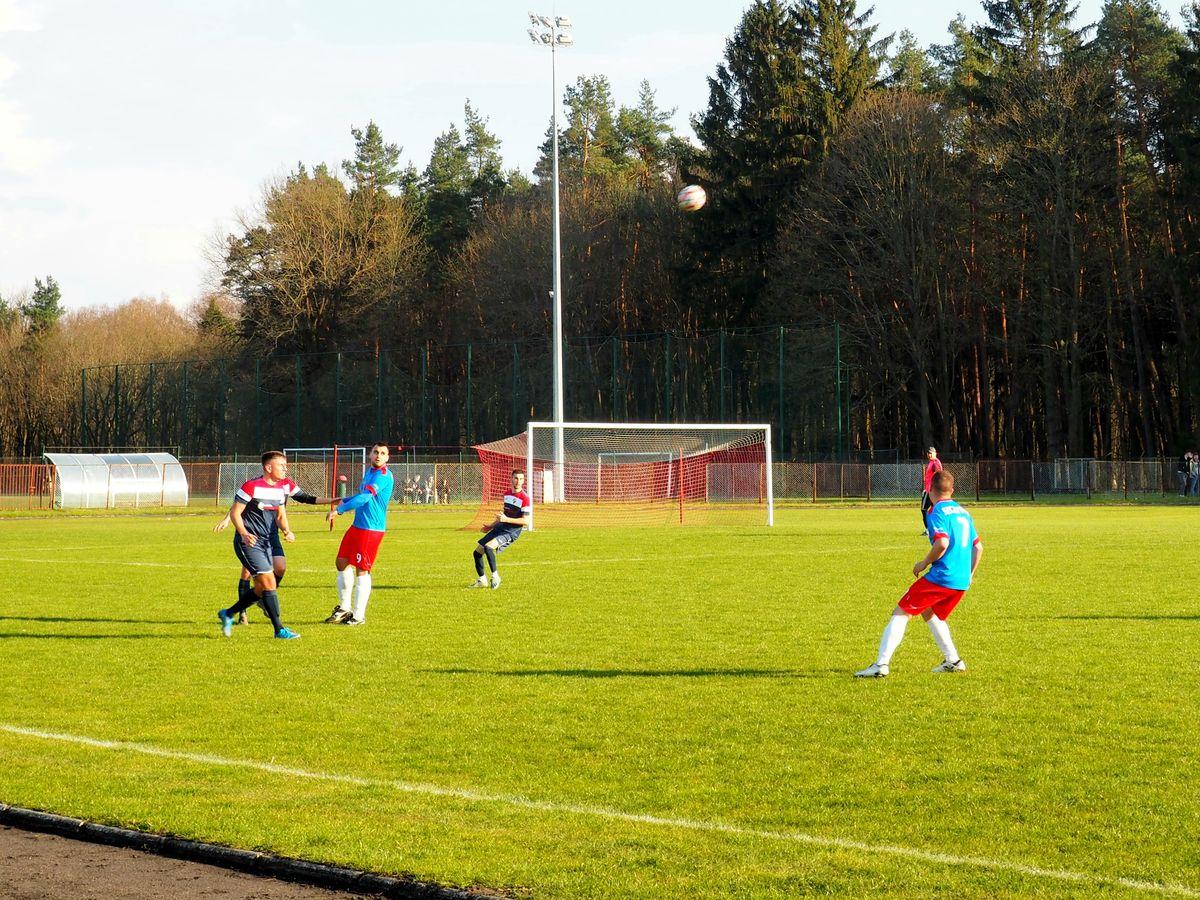 Mecz Victorii Bartoszyce z SKS Szczytno