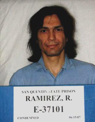 Gronem oddanych wielbicielek mógł pochwalić się również Richard Ramirez