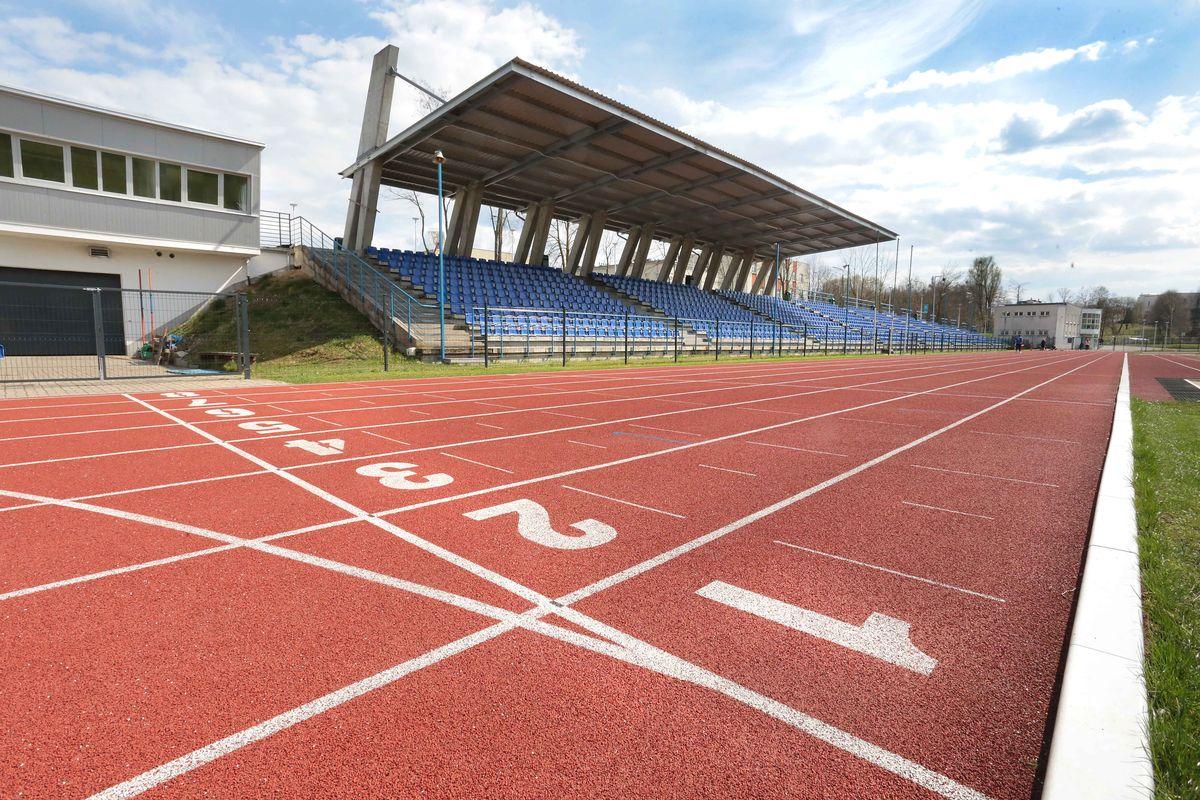 Stadion lekkoatletyczny w Kortowie