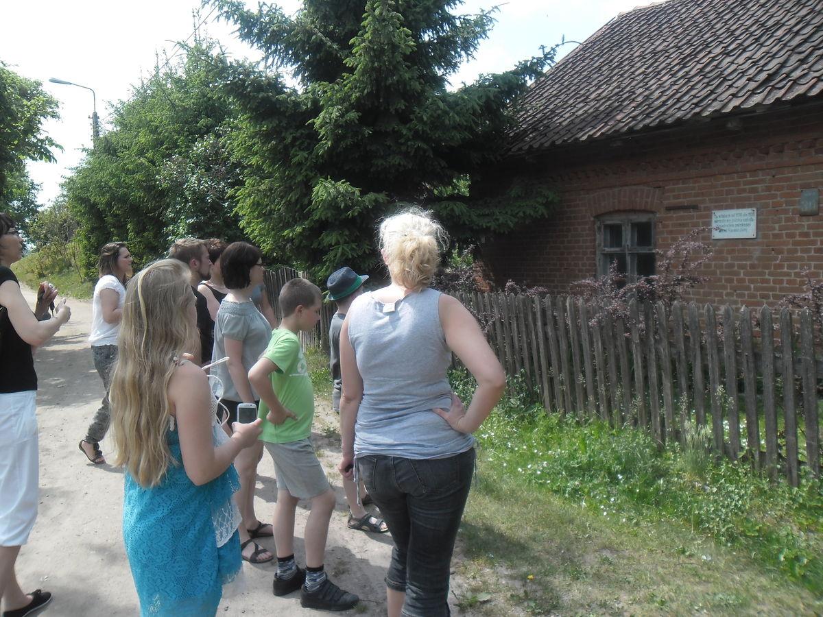 W tym domu mieściła się przedwojenna szkoła polska