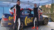 Adam Binięda rozpoczyna testy przed Rajdowymi Samochodowymi Mistrzostwami Polski