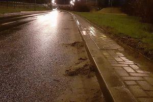 Służby miejskie informują: trwa mechaniczne zamiatanie ulic w Olsztynie. ZDZiT ma też prośbę do mieszkańców