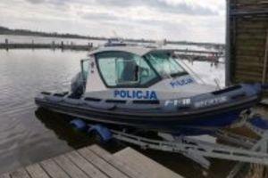 Policyjny wodny patrol jest już na jeziorach
