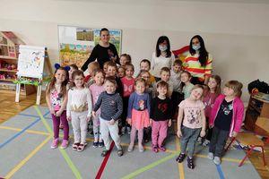 Światowy Dzień Książki w Przedszkolu Krasnal w Olecku