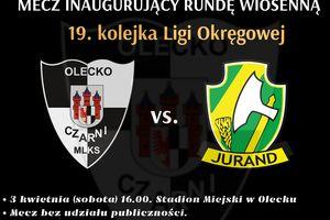 Czarni Olecko inaugurują rundę wiosenną