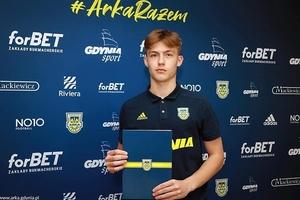 Iławianin Wojciech Zieliński podpisał profesjonalny kontrakt z Arką Gdynia!
