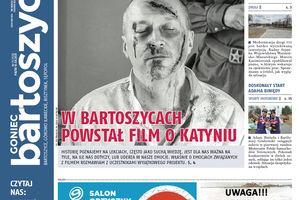 """Historyczne wydanie """"Gońca Bartoszyckiego"""""""