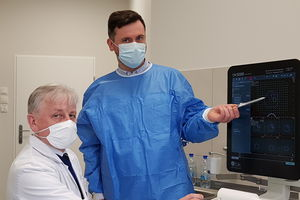 Olsztyńscy lekarze przeprowadzili najnowocześniejszy zabieg diagnostyki raka prostaty