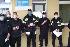 Pierwsi nasi strażacy są już zaszczepieni przeciwko covid - 19