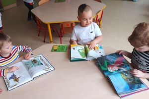Dzień Książki u maluchów z Przedszkola Miejskiego