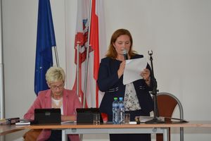 Sesja nadzwyczajna RM Olecko. Wiceprzewodnicząca do odwołania