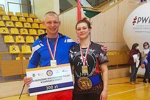 Ewelina Kaczyńska złotą medalistką Młodzieżowych Mistrzostw Polski
