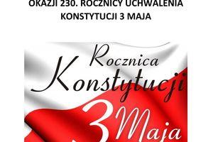"""""""Elizka"""" o 230 rocznicy uchwalenia Konstytucji 3 maja"""