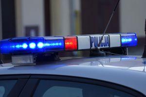 Kierowca w centrum Gołdapi dostał ataku padaczki