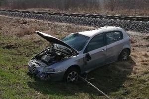 Zderzenie dwóch samochodów na trasie Pisz-Biała Piska