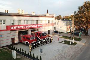OSP w Sępopolu czeka na kamerę termowizyjną