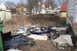"""""""Piękne"""" widoki niemalże w centrum Olecka"""