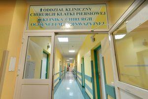 Kto chce zabrać oddział torakochirurgi ze Szpitala Miejskiego?