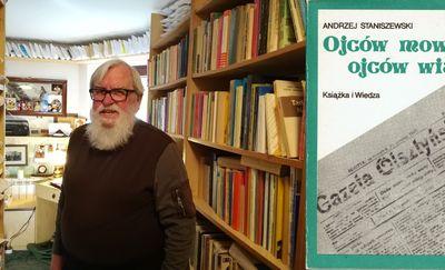 """#135 lat: Profesor Andrzej Staniszewski i jego historia """"Gazety Olsztyńskiej"""". Dziennik z lat 1984-1985"""