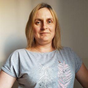 Katarzyna Szczurowska, sołtyska z Maliniaka w gminie  Morąg, zwyciężczyni w plebiscycie Gazety Olsztyńskiej SuperSołtys