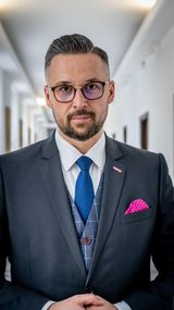 Poseł Marcin Kulasek z Klubu Parlamentarnego Lewica