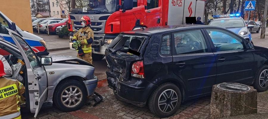Do wypadku doszło dziś (piątek 16 kwietnia) tuż przed południem
