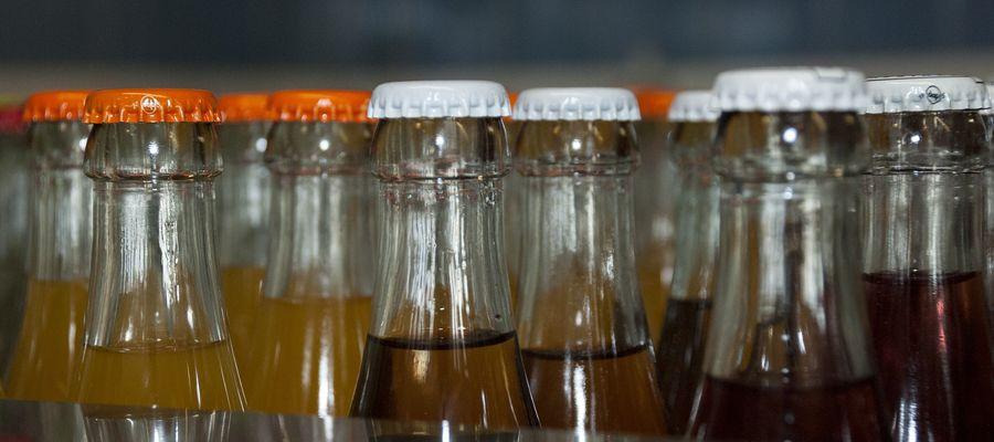 Butelki z najpojem gazowanym