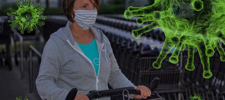 Wirusa znaleziono na terminalach do kart płatniczych, przyciskach do wag, wózkach i koszykach na zakupy