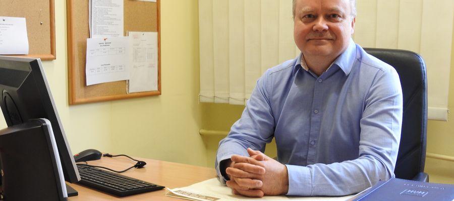 Dariusz Wółkiewicz - dyrektor ZSZiO w Nidzicy