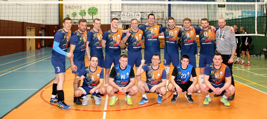 Drużyna siatkówki Team Cresovia