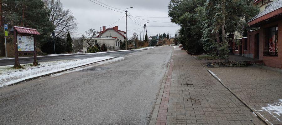 Tak jeszcze kilka dni temu wyglądała ulica Słoneczna
