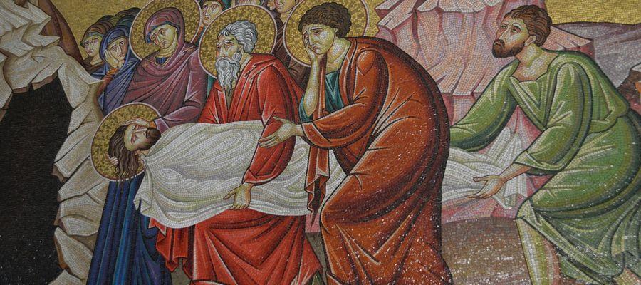 Mozaika ze sceną czasu Triduum
