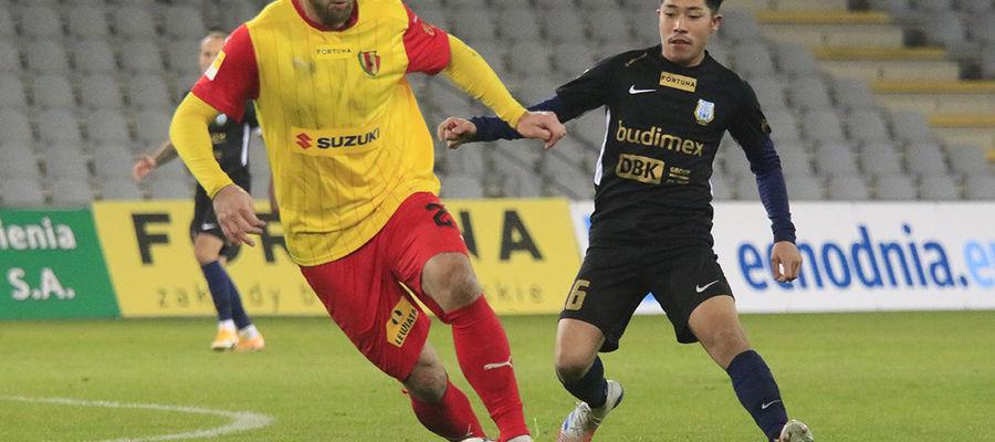 W rundzie jesiennej Stomil Olsztyn wygrał z Koroną 3:1 w Kielcach