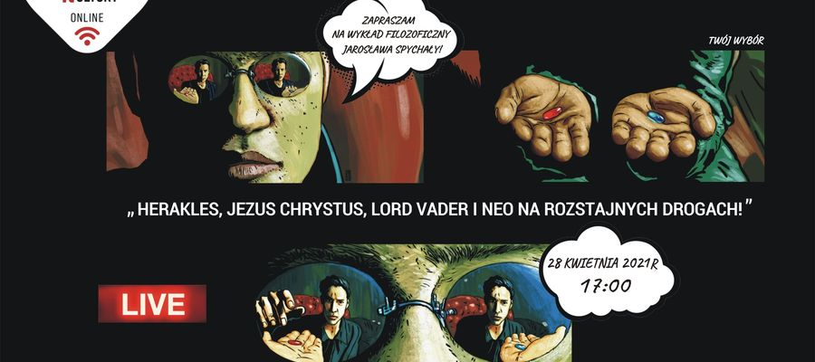 Online z filozofem Jarosławem Markiem Spychałą